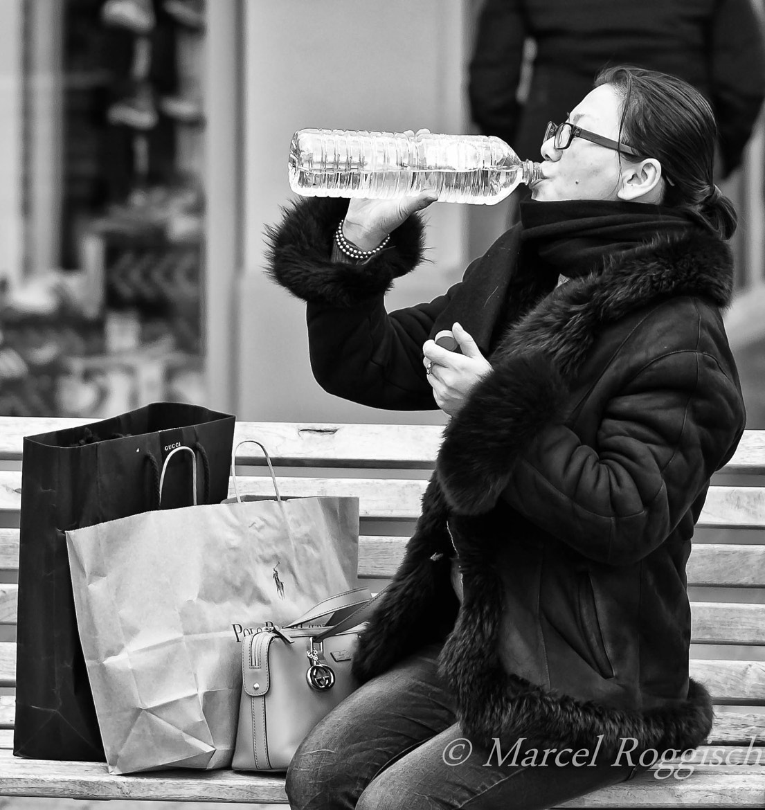 Photograph Shopping Makes You Thirsty by Marcel  Roggisch on 500px