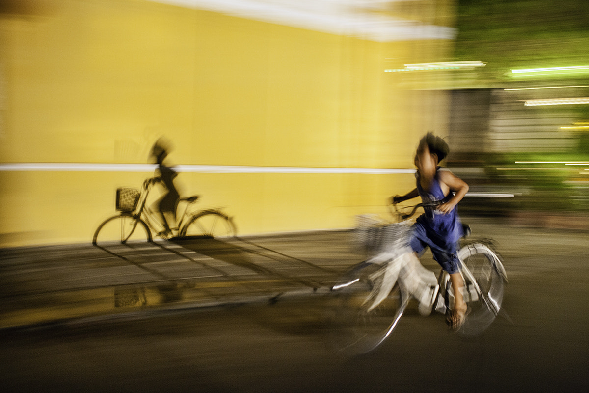 Photograph Night ride by Etienne Bossot on 500px