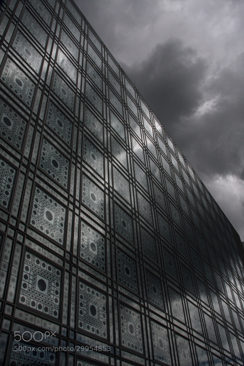 Photograph Institut Du Monde Arabe, Paris by Kathrin Voss on 500px