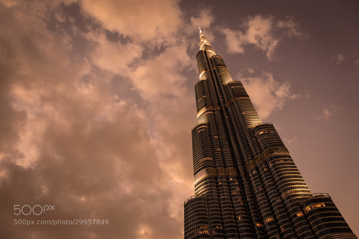 Photograph Burj Khalifa: Reaching Skyward by Richard Schneider on 500px