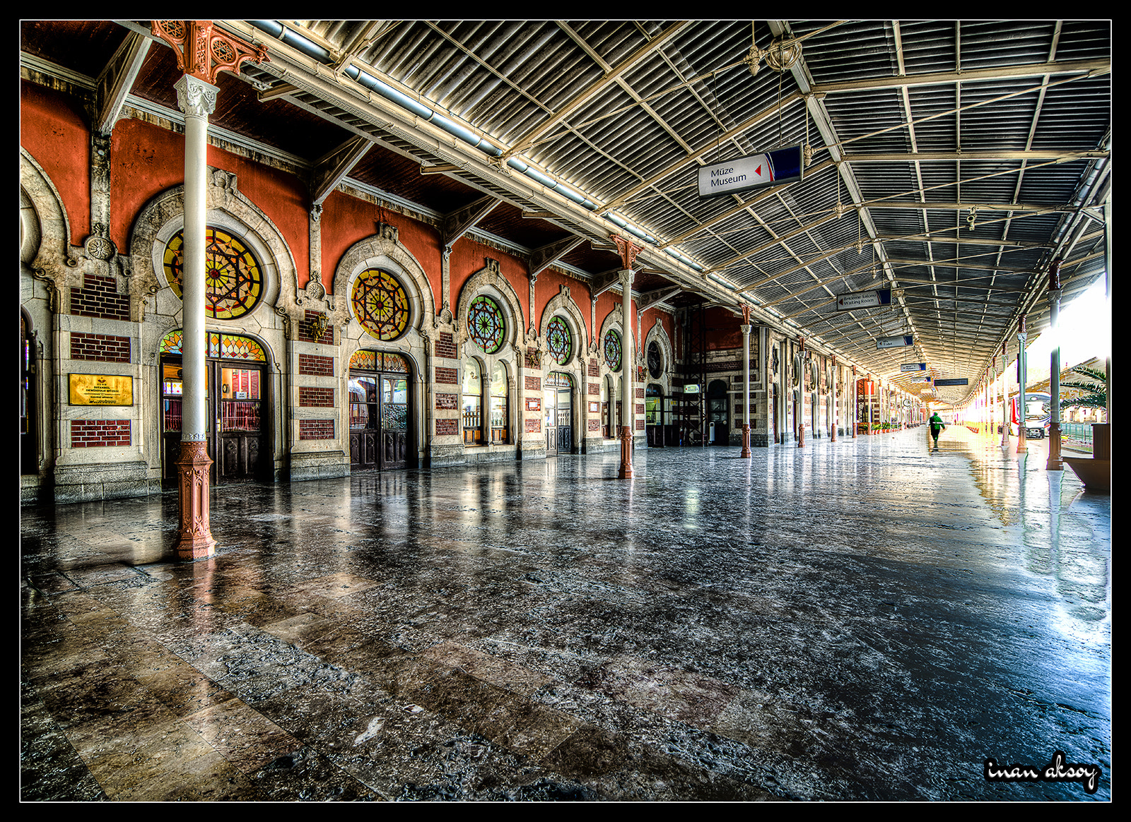 Photograph Sirkeci Train Station by Inan Aksoy on 500px
