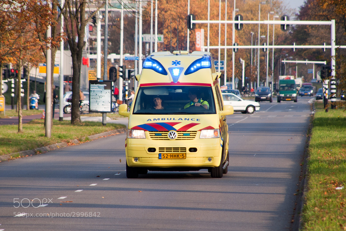 Photograph Emegergency Call for a Ambulance by Roel Smits on 500px
