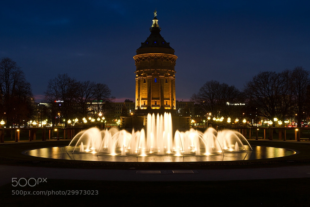 Photograph Wasserturm by Jörg H. on 500px