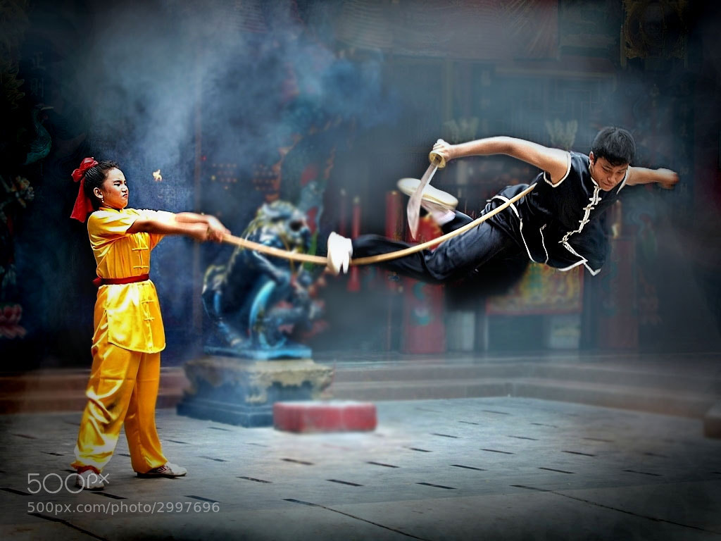 Photograph wushu by Irawan Subingar on 500px