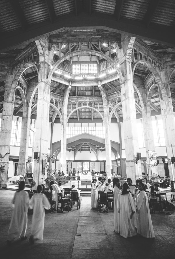 Interior of Christ the Living Saviour, Colombo, Sri Lanka by Son of the Morning Light on 500px.com