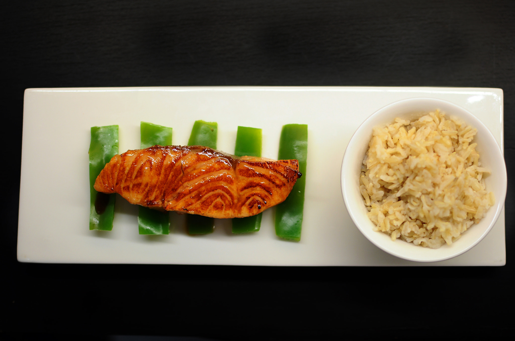 Photograph orange soy glazed salmon by Simon Sperling on 500px