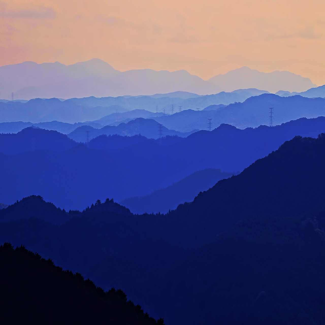 Photograph mountain over mountain by MIYAMOTO Y on 500px
