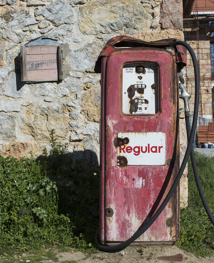 Old Gas Pump by Nick Petrop / 500px