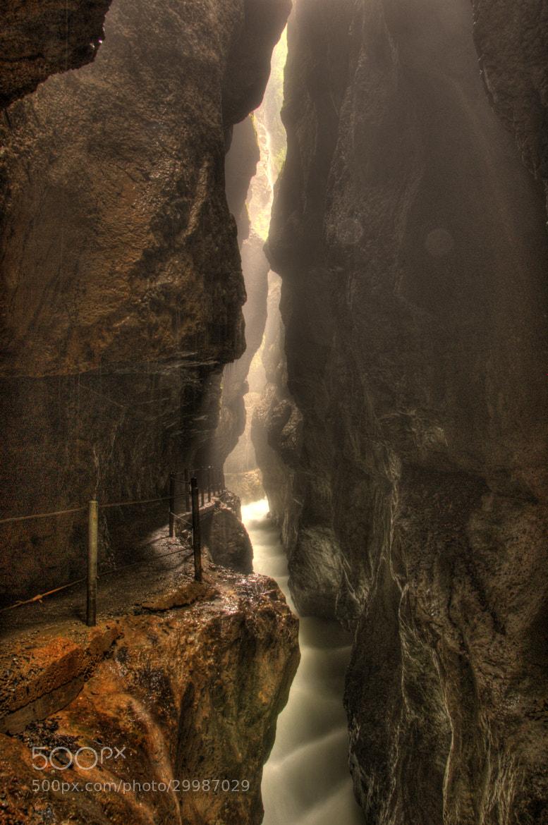 Photograph Partnach Gorge by Jared Larson on 500px
