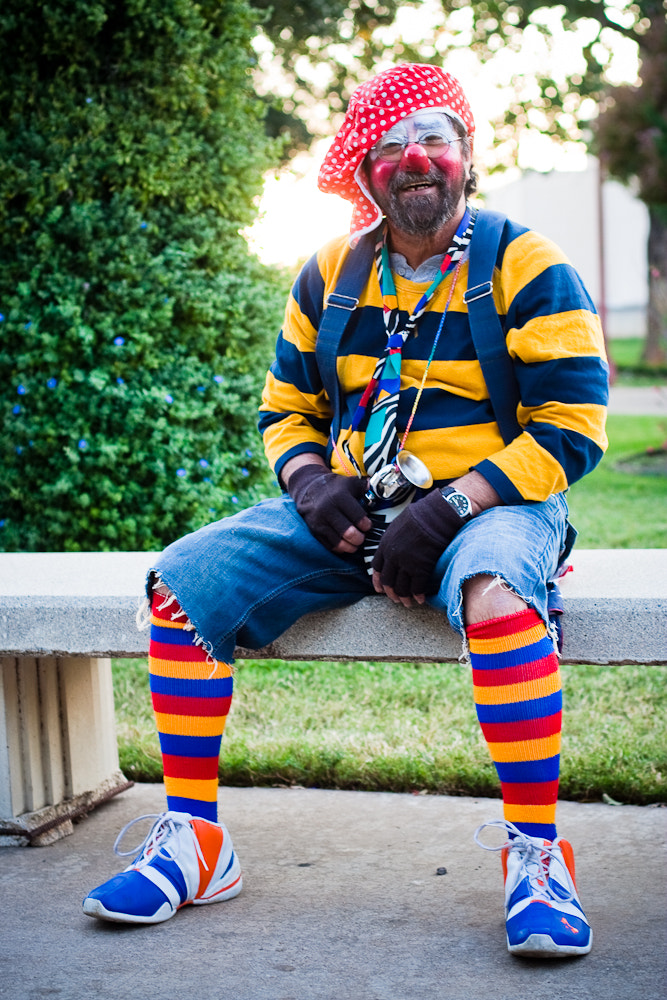 Photograph Clown Janitor by Royal Constantine on 500px