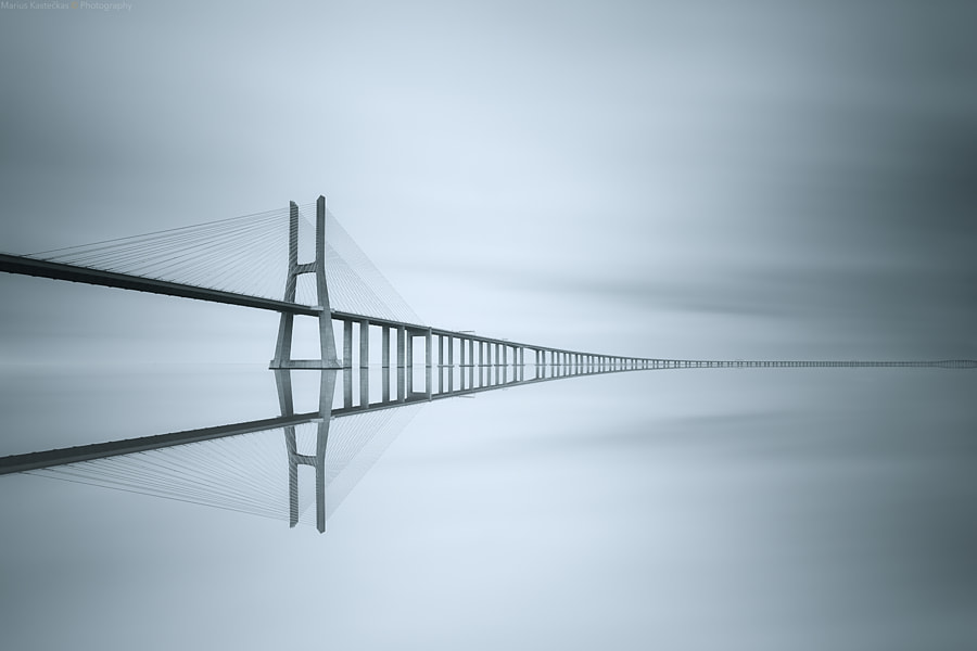 Vasco da Gama Bridge by Marius Kastečkas on 500px.com