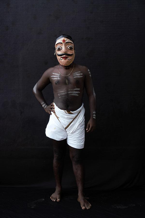 Traditional Peyattam(Ghost Dance) Artist by Sarathi Thamodaran on 500px.com