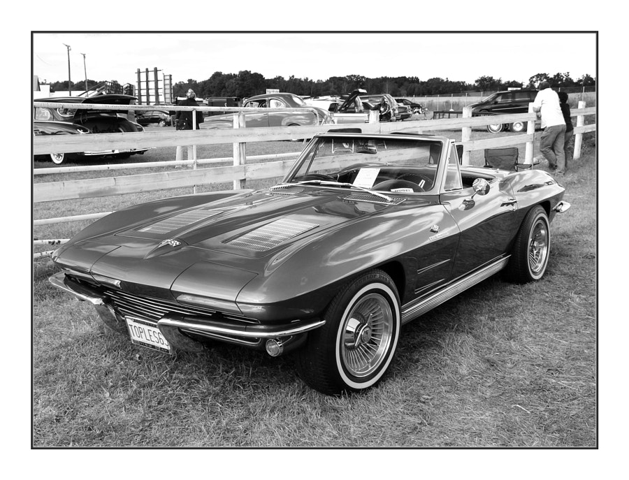 1963 Corvette Roadster - BW