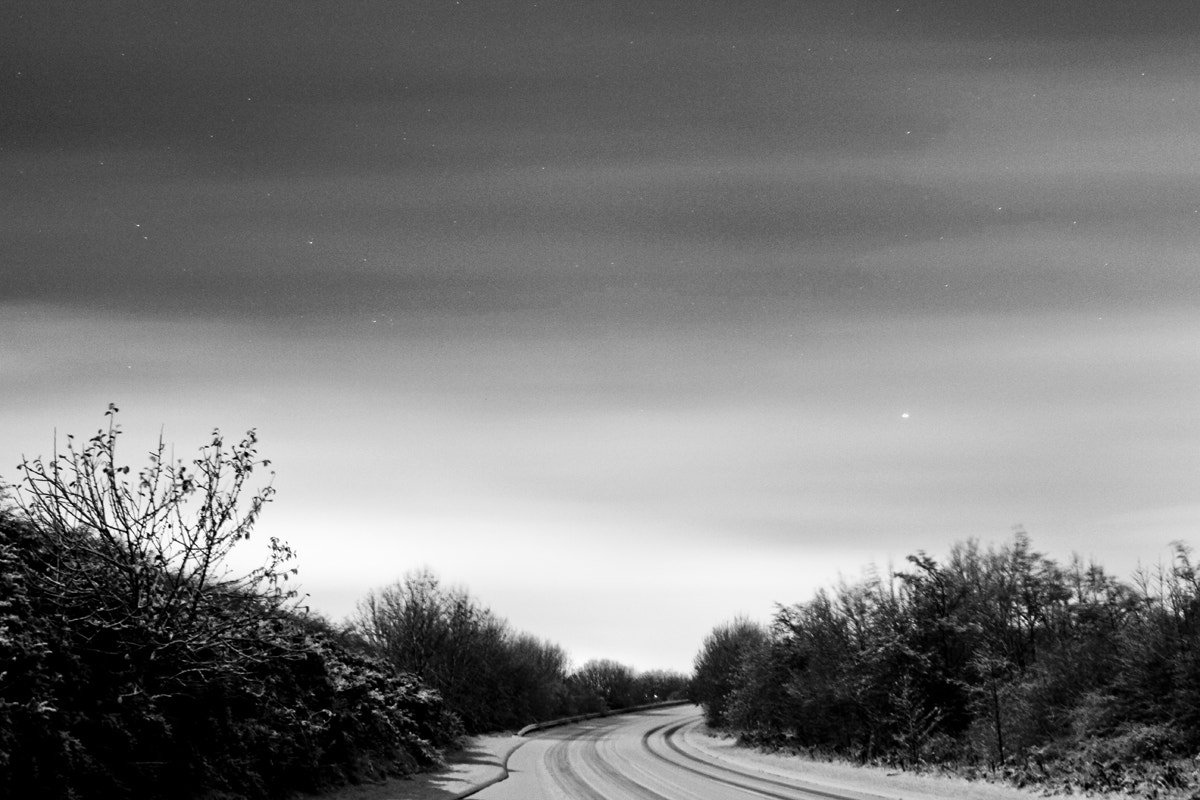 Photograph Winter Road by Gary Young on 500px