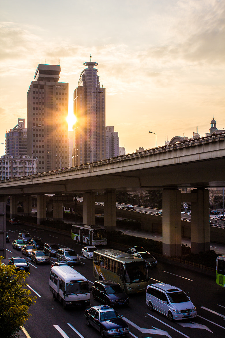 Photograph Shanghai Traffic  by eric v on 500px