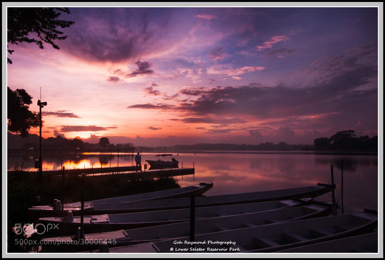 Photograph Morning Scene @ Lower Seletar Reservoir Park by Goh Raymond on 500px