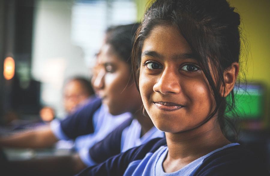 Schoolgirl, Colombo, Sri Lanka by Son of the Morning Light on 500px.com