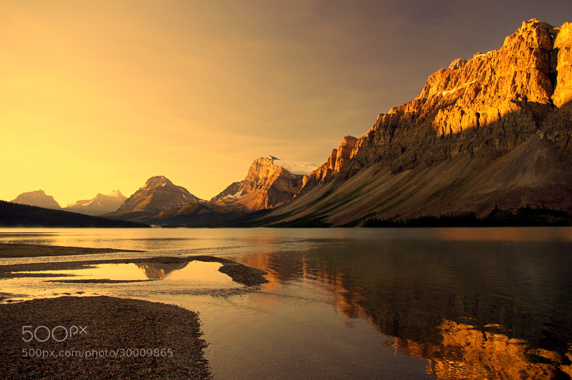 Photograph Bow lake shore by Jag Canape on 500px