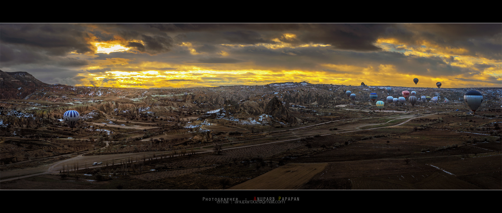 Photograph Panorama View from Sky by Anuparb Papapan on 500px