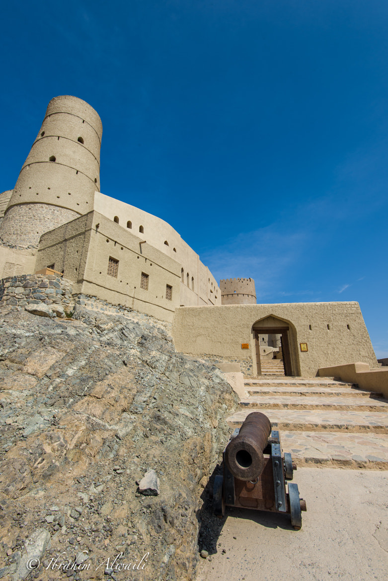 Photograph Entrance of Bahla fort by Ibrahim AlWaili on 500px