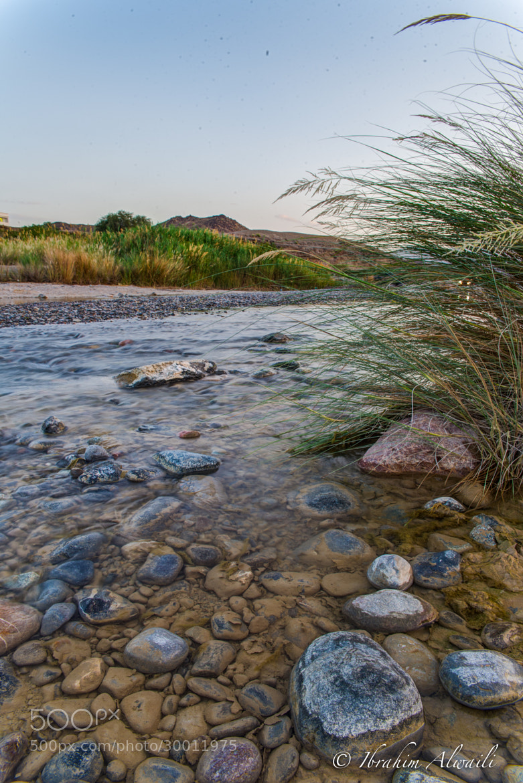 Photograph Water stream by Ibrahim AlWaili on 500px