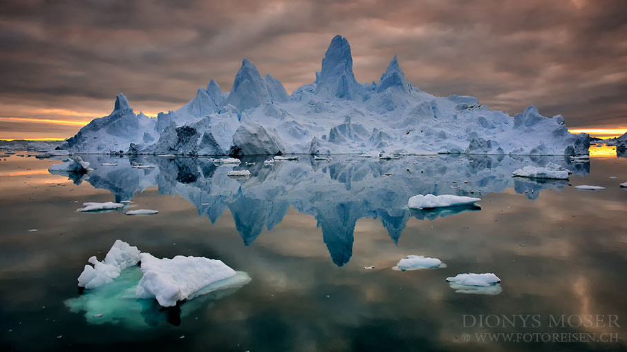 Photograph towers on ice by Dionys Moser on 500px