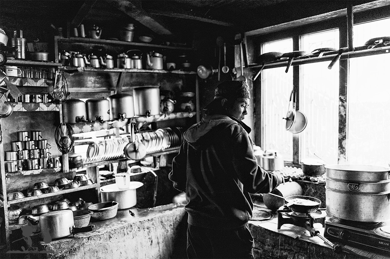 Photograph Macchapucchare Kitchen by Gianmarco Meroni on 500px