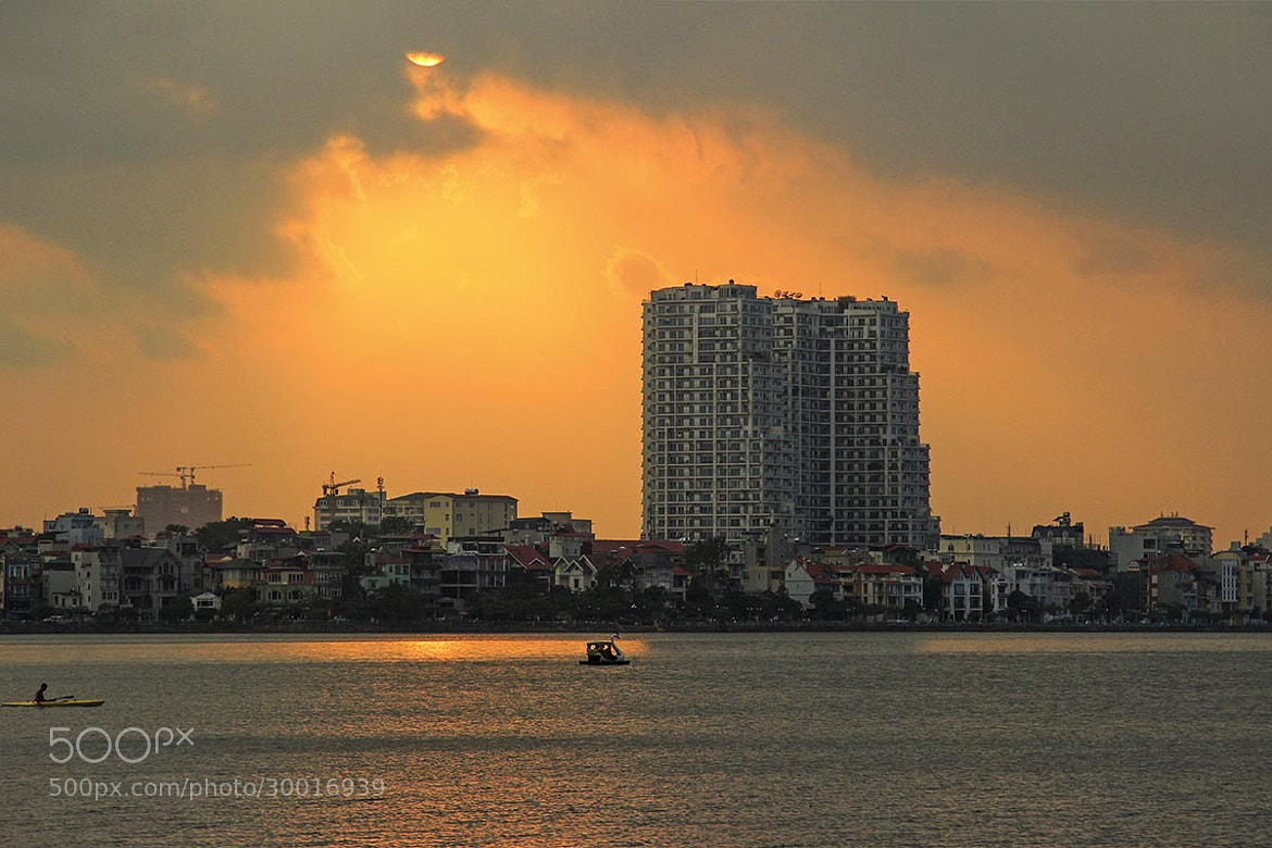 Photograph HO TAY SUNSET. by Tuan Nguyen Anh on 500px