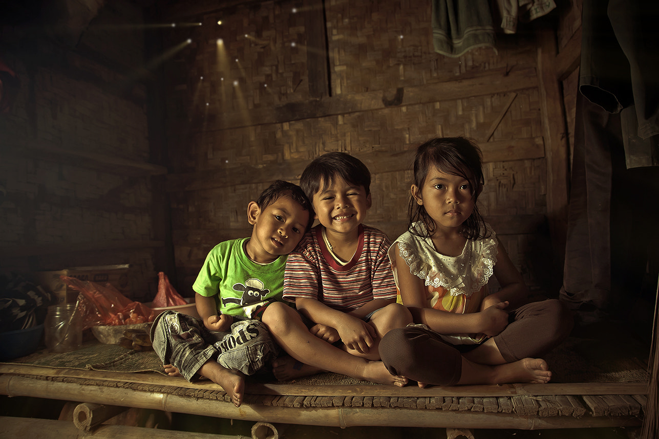 Photograph CHILDREN FROM SITU GUNUNG INDONESIA by abe less on 500px