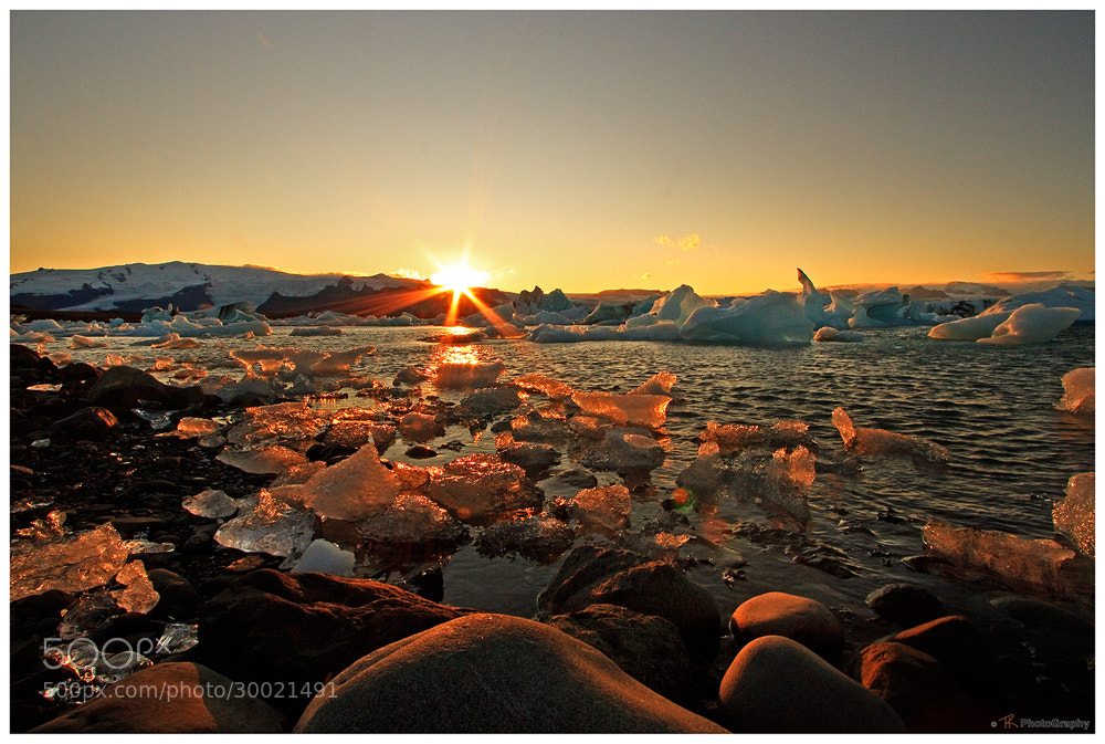 Photograph Icy Sundown by Tobi K on 500px