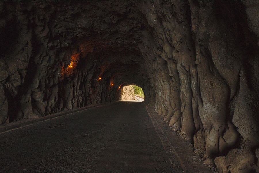 The old streettunnels of Madeira by F W on 500px.com