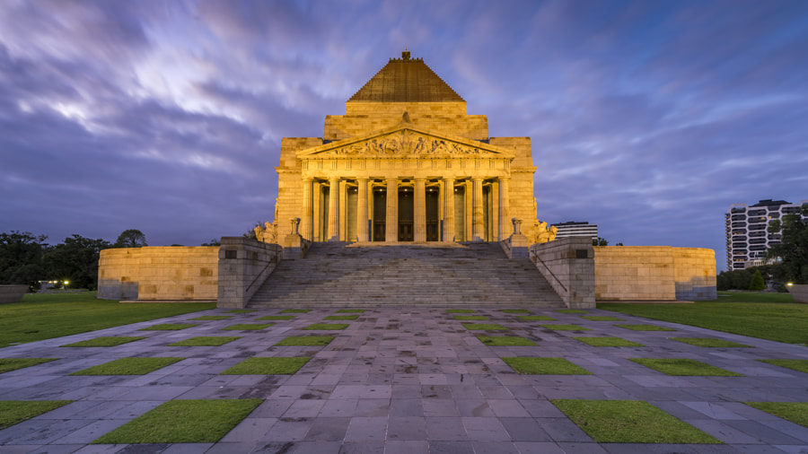 The Shrine of Remembrance ii by Scott Buttigieg on 500px.com