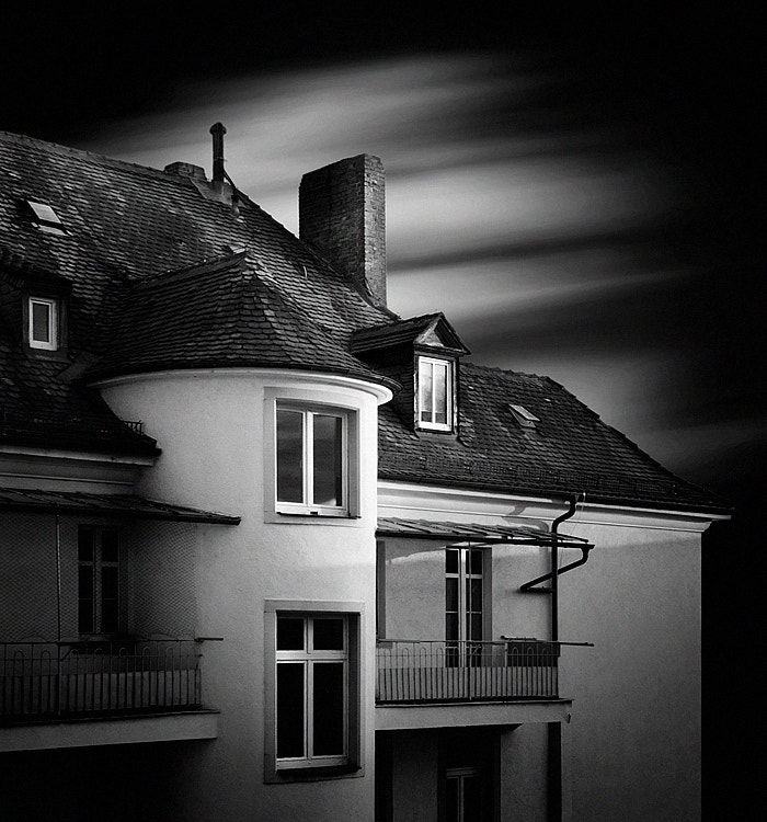 Photograph the house 04 b&w by Max Ziegler on 500px