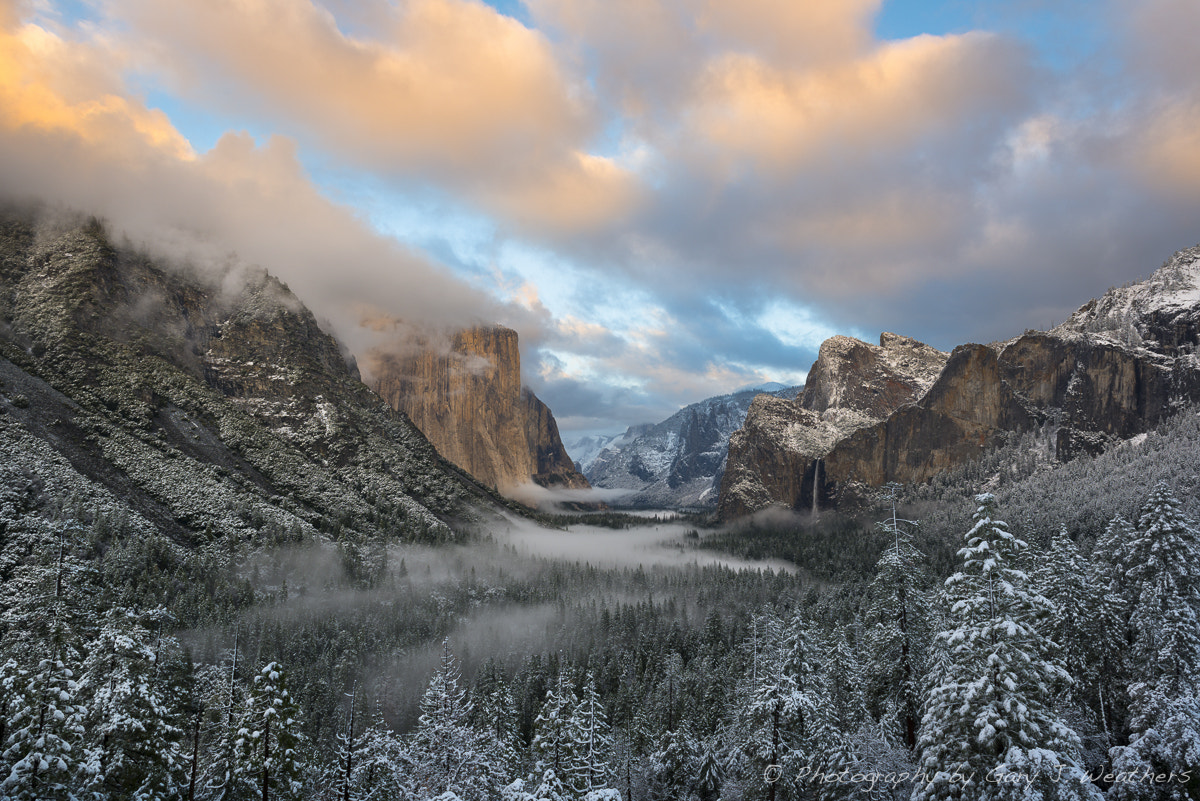 Photograph Sunset/Snow, Yosemite Valley, California by Gary Weathers on 500px