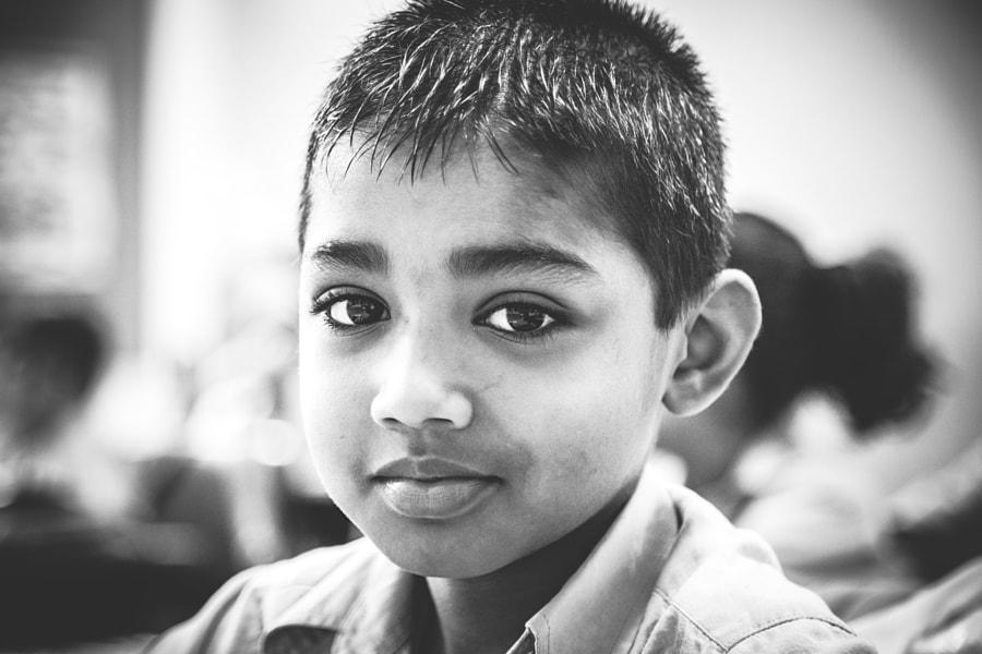 Schoolboy, Kandy, Sri Lanka