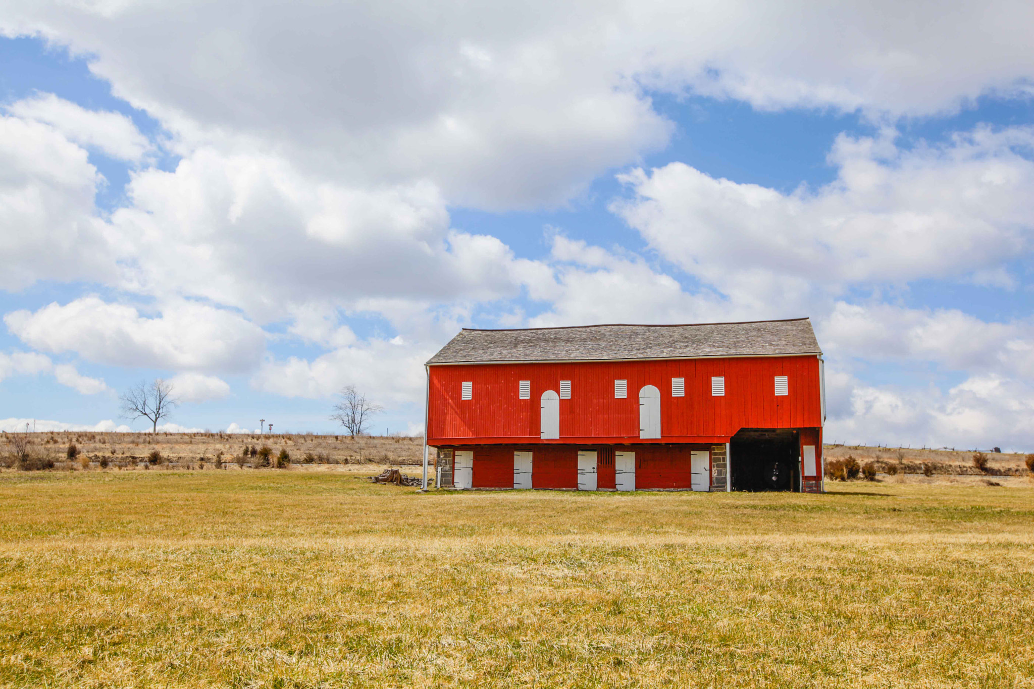 Photograph Red Barn II by Christopher Bower on 500px