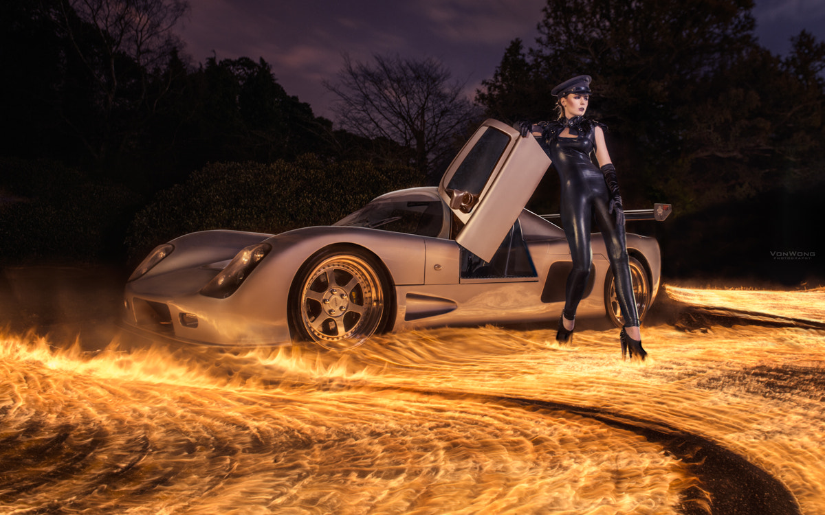 Photograph An Ultima GTR on fire by Benjamin Von Wong on 500px