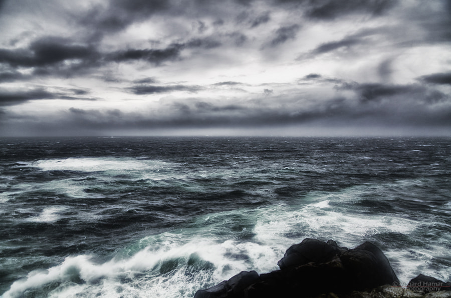 Photograph Into the storm by Vegard Hamar on 500px