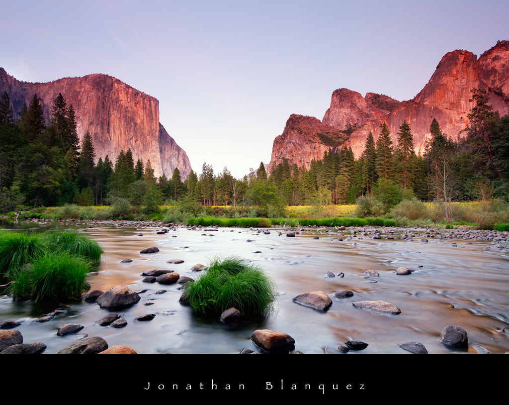 Photograph Sunset in the Yosemite Valley by Jonathan Blanquez on 500px