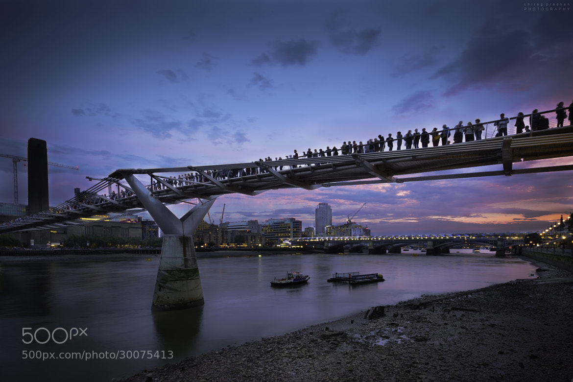 Photograph Bridging people by Chirag Pradhan on 500px
