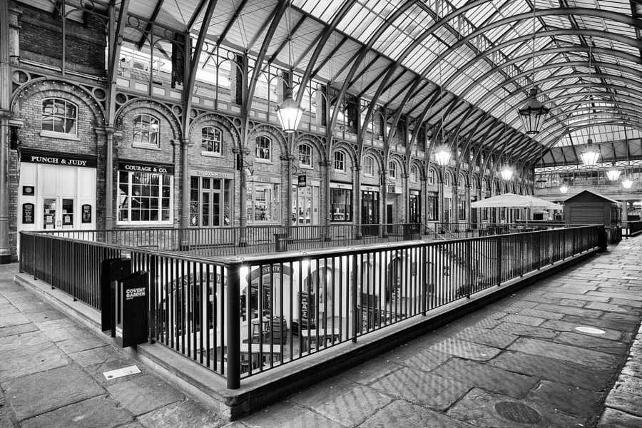 Early Morning @ Covent Garden