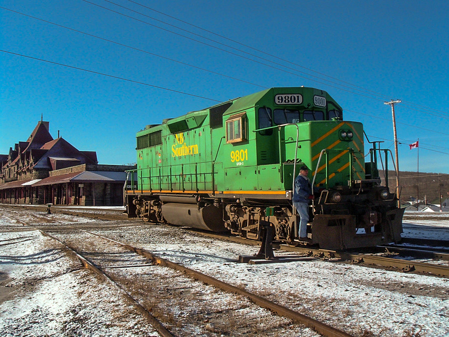 Photograph NBSR 9801 in McAdam, NB by Steve Boyko on 500px