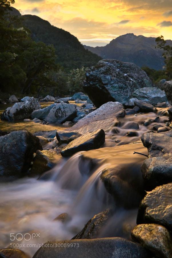 Photograph Clinton River Sunset by Chris Jones on 500px