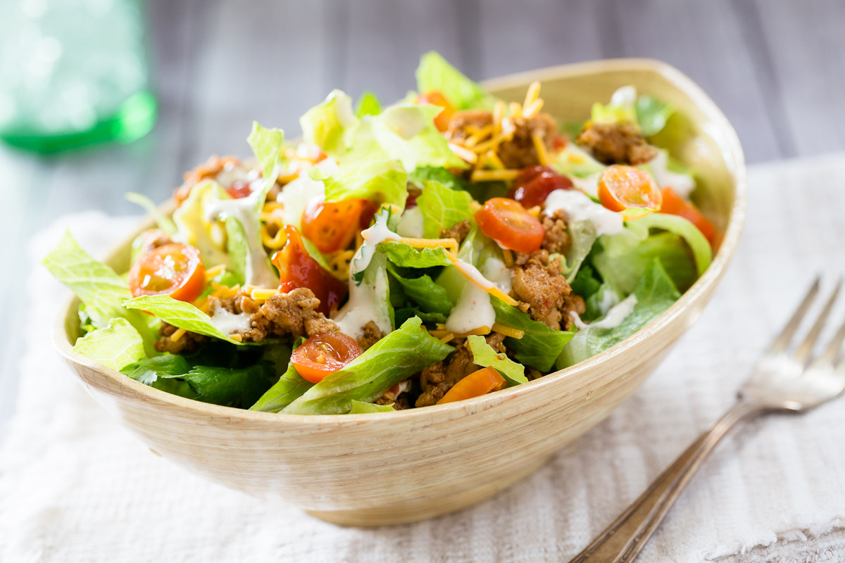 Photograph Taco Salad by Nicole S. Young on 500px