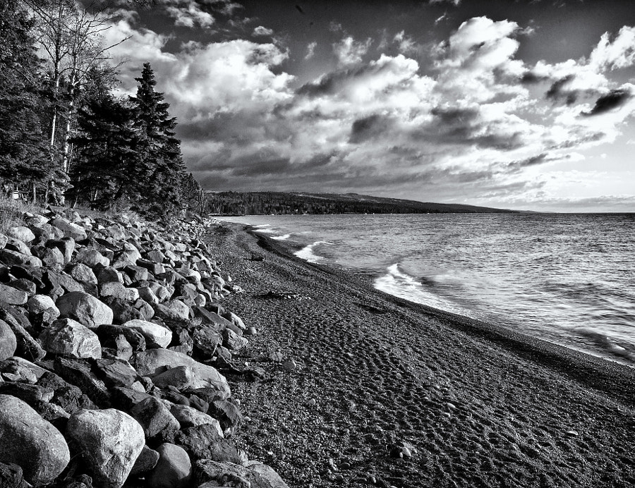 Lake Superior, south of Grand Marais, Minnesota
