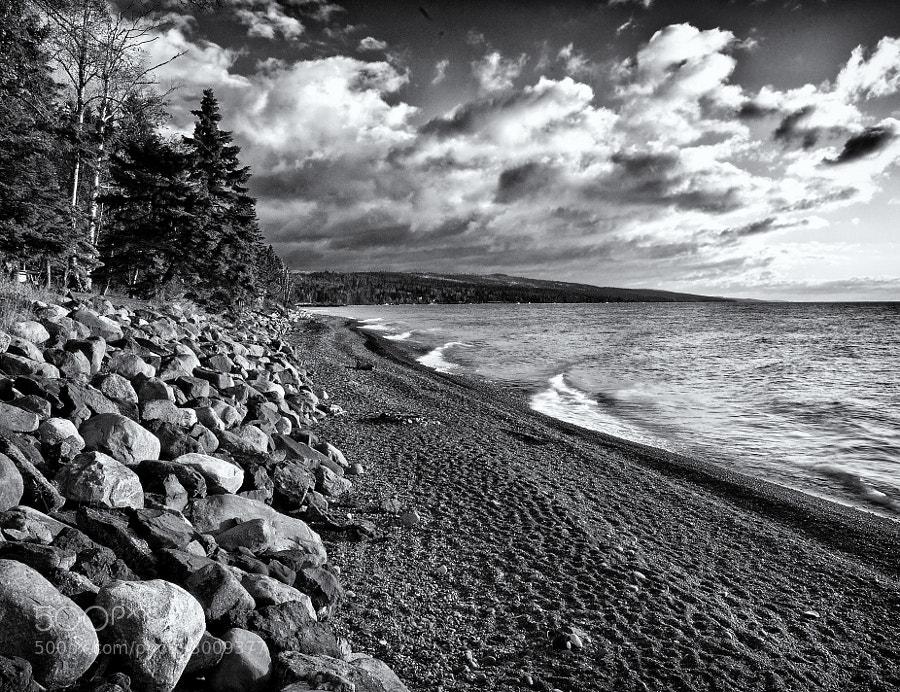 Lake Superior, south of Grand Marais, Minnesota