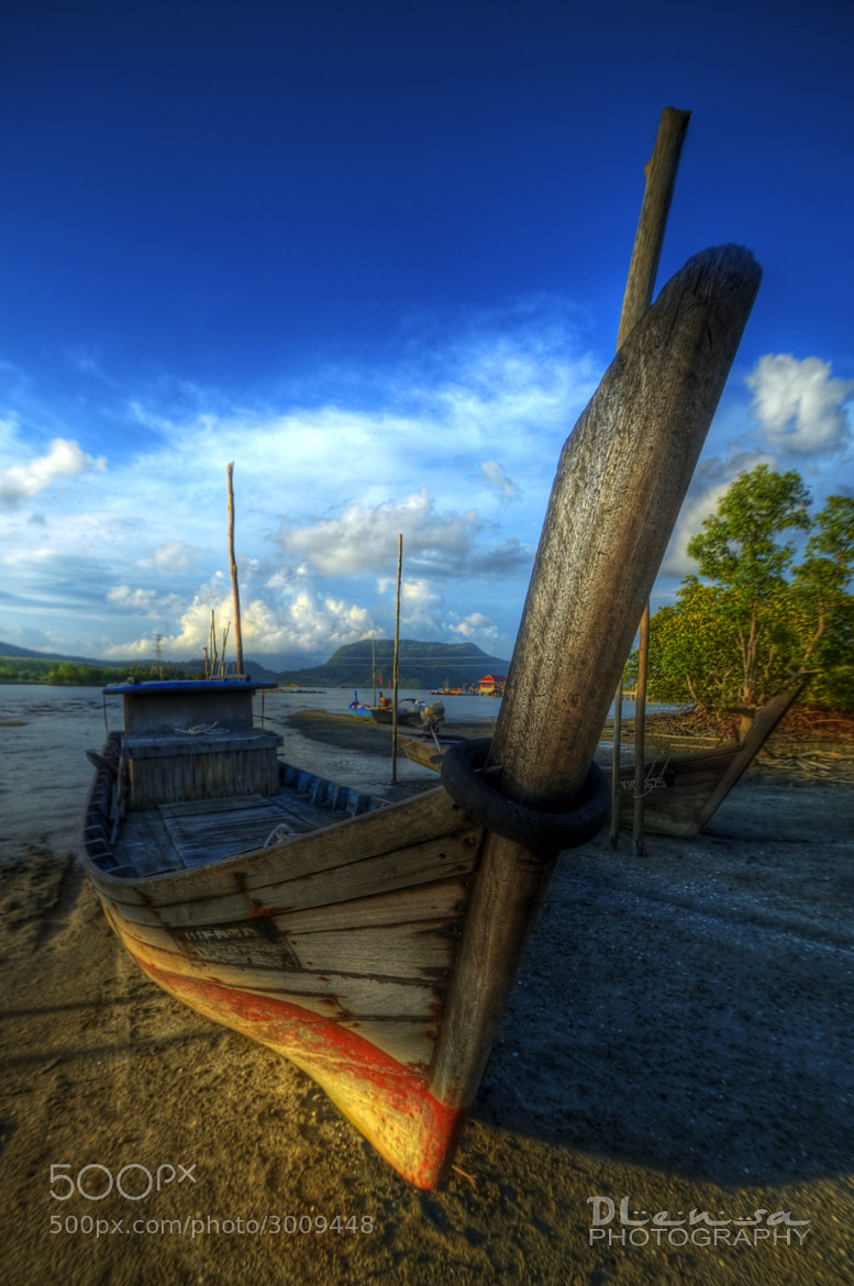 Photograph boat II by chegu diman on 500px