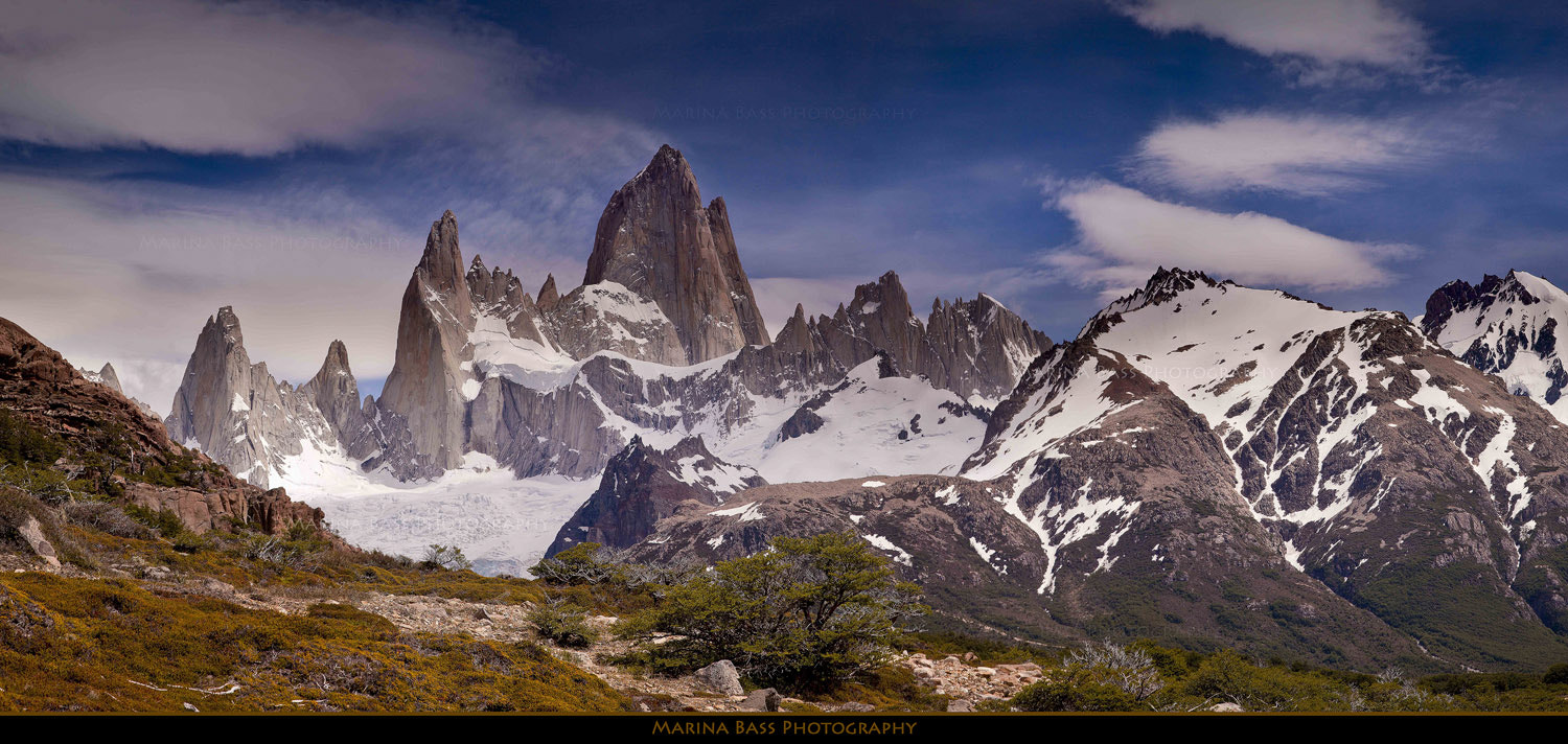 Photograph Fitz Roy Lookout by Marina Bass on 500px