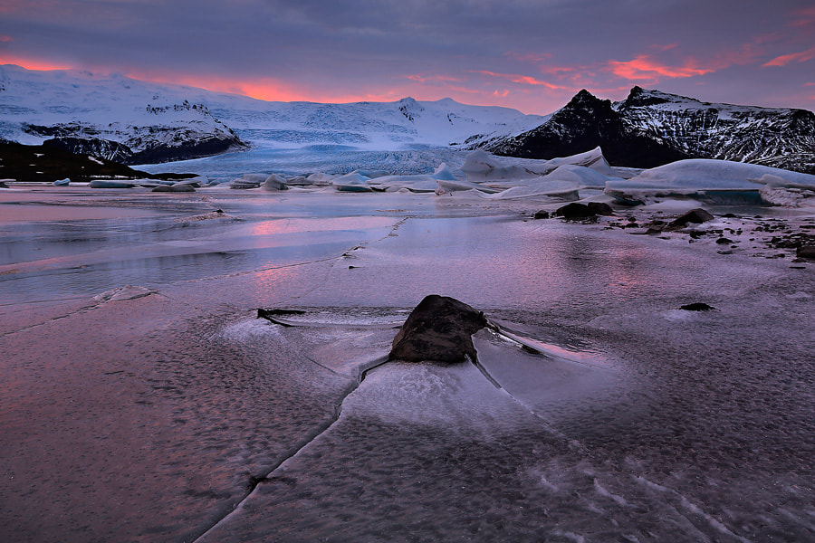 Photograph  vatnajökull glacier by donald luo on 500px