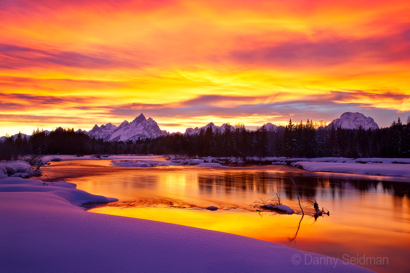 Photograph Fiery Reflection by Danny Seidman on 500px